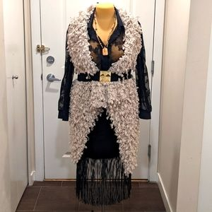 Romeo+Juliet Couture L Rock and Roll Wooly Vest